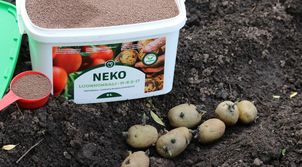 0 Neko Luonnonkali, hyvä lannoite juureksille